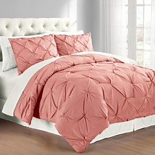 Premium Collection Twin Pintuck Bedding Comforter Set