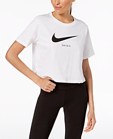Nike Sportswear Cotton Cropped T-Shirt
