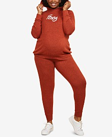Motherhood Maternity Plus Size Fox Hoodie