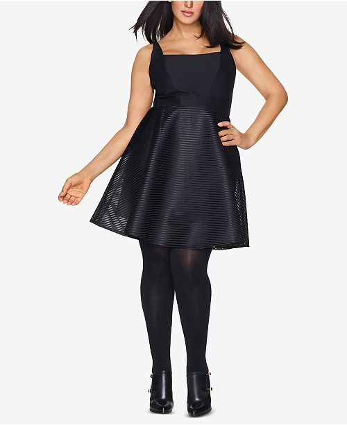 Hanes Curves Plus Size Sheer Tights