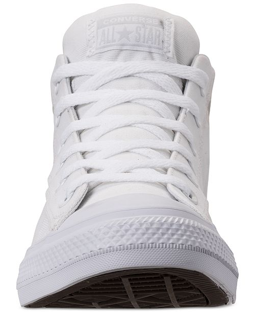 186b21fb96a0 ... Converse Men s Chuck Taylor All Star Street Mid Combat Zone Casual  Sneakers from Finish Line ...