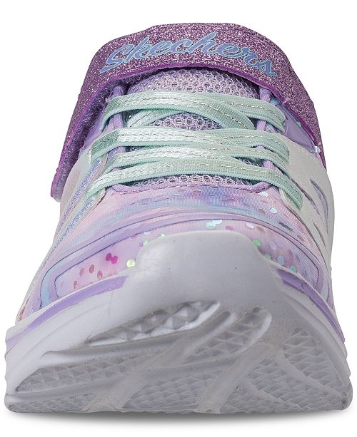 a904fc4ea447 ... Skechers Little Girls  Double Dreams - Unicorn Wishes Running Sneakers  from Finish ...