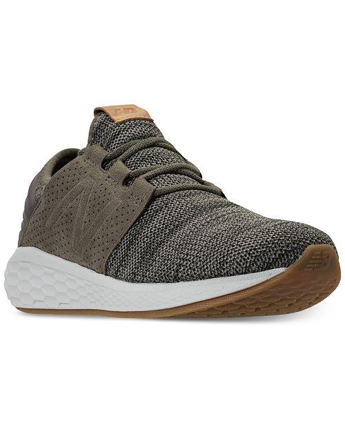 50bb42a57d5b6 New Balance Men's Fresh Foam Cruz Running Sneakers from Finish Line ...