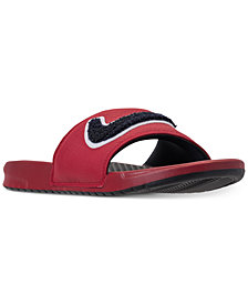 Nike Men's Benassi JDI Chenille Slide Sandals from Finish Line