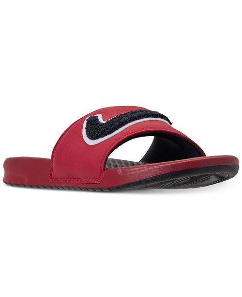 be067ddc7239d3 ... Nike Men s Benassi JDI Chenille Slide Sandals from Finish Line ...