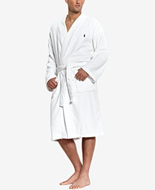Men's Sleepwear Soft Cotton Kimono Velour Robe