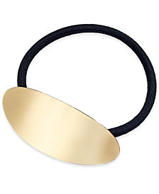 I.N.C. Gold-Tone Ponytail Holder, Created for Macy's