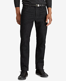 Polo Ralph Lauren Men's Big & Tall Hampton Relaxed Straight Jeans