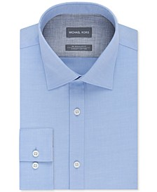 Men's Classic/Regular Fit Non-Iron Airsoft Stretch Performance Solid Dress Shirt, Online Exclusive