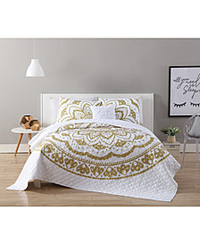 VCNY Home Karma Gold 3-Pc. Twin XL Quilt Set