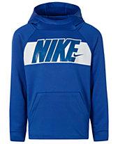 194e310cbe67 Nike Little Boys Dri-FIT Logo Graphic Pullover Hoodie
