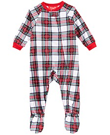 Matching Baby Stewart Plaid Footed Pajamas, Created For Macy's