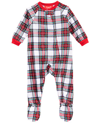 Matching Baby Stewart Plaid Footed Pajamas, Created For Macy's by General