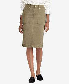 Lauren Ralph Lauren Stretch Chino Skirt