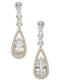 Danori Crystal Drop Earrings, Created for Macy's