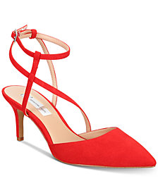 I.N.C. Women's Lenii Pointed Toe Pumps, Created for Macy's