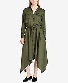 Lauren Ralph Lauren Twill Shirtdress