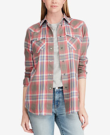 Lauren Ralph Lauren Cotton Western Shirt