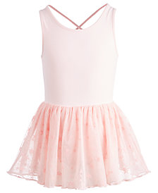Ideology Little Girls Mesh-Tutu Dance Dress, Created for Macy's