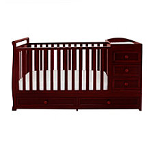 Daphne Crib & Changer, Cherry