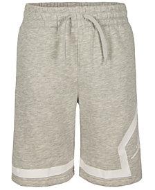 Jordan Big Boys Diamond Fleece Shorts