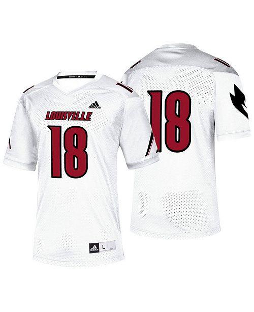 adidas Men's Louisville Cardinals Replica Football Jersey