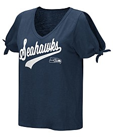 Touch by Alyssa Milano Women's Seattle Seahawks First String T-Shirt