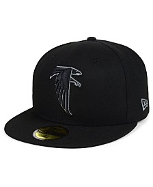 New Era Atlanta Falcons Black Gray Basic 59FIFTY FITTED Cap