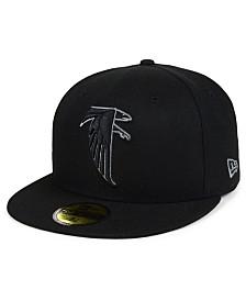 New Era Atlanta Falcons Black Gray Basic 59FIFTY FITTED Cap