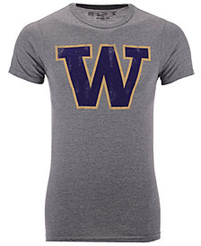 Retro Brand Men's Washington Huskies Alt Logo Dual Blend T-Shirt