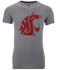 Retro Brand Men's Washington State Cougars Alt Logo Dual Blend T-Shirt