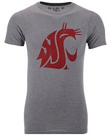 Retro Brand Men's Washington State Cougars Alt Logo Dual Blend T-Shirt