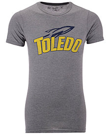 Retro Brand Men's Toledo Rockets Alt Logo Dual Blend T-Shirt