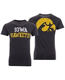 Men's Iowa Hawkeyes Team Stacked Dual Blend T-Shirt