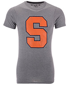 Retro Brand Men's Syracuse Orange Alt Logo Dual Blend T-Shirt