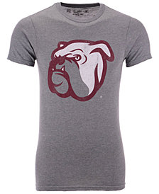 Retro Brand Men's Mississippi State Bulldogs Alt Logo Dual Blend T-Shirt