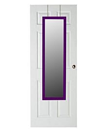 Over The Door Mirror, Purple