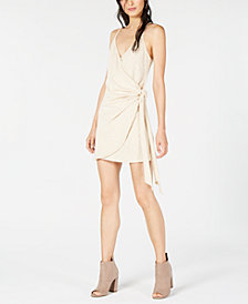 Sage The Label Wrap Mini Dress