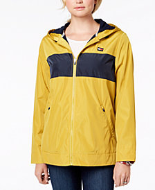 Tommy Hilfiger Sport Hooded Windbreaker Jacket