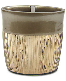 Croscill Magnolia Floral Toothbrush Holder