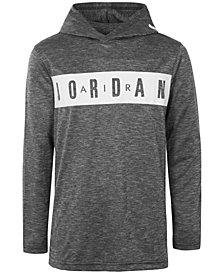 Jordan Big Boys Logo-Print Hoodie