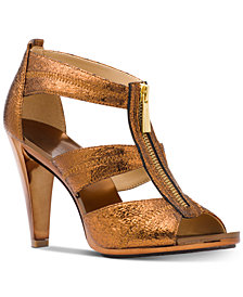 MICHAEL Michael Kors Berkley T-Strap Dress Sandals