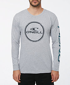 O'Neill Men's Wind Jammer Long Sleeve T-Shirt with Sleeve Graphics