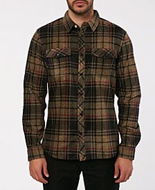 O'Neill Men's Glacier Plaid Flannel Shirt