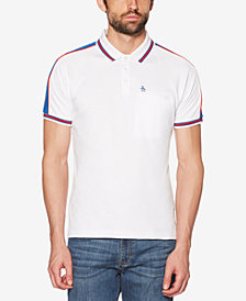 Original Penguin Men's Raglan-Sleeve Pima Cotton Pocket Polo