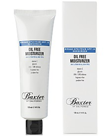 Baxter Of California Oil Free Moisturizer SPF 15, 4-oz.