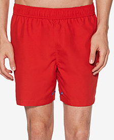 "Original Penguin Men's Music Chord Reversible 6"" Swim Trunks"