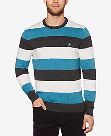 Original Penguin Men's Rugby Stripe Sweater