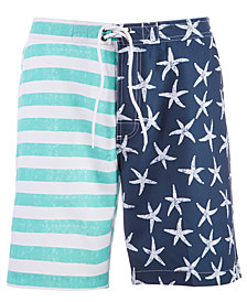 Trunks Surf & Swim Co. Men's Starfish & Stripes 8'' Swim Trunks