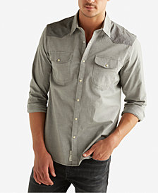 Lucky Brand Men's Colorblocked Western Shirt